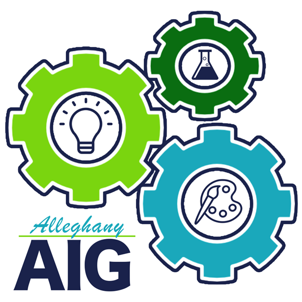 During the school closure, AIG students participated in an AIG logo contest.  The submitted logos w
