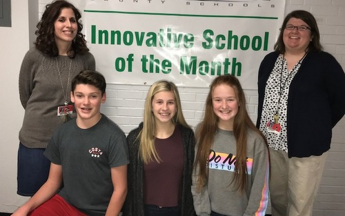 GCS Innovative School Winner for Fall Quarter